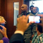 Floyd Mayweather Jr. Appears In Court