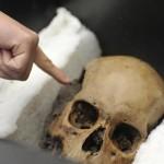 50 cráneos desenterrados en templo azteca 3