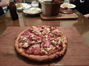Para luego convertirse en una apetitosa pizza.
