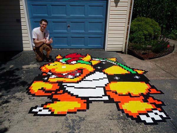 15.) Crea mosaicos increíbles...