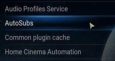 Descarga automatica de subtitulos para peliculas o series en kodi