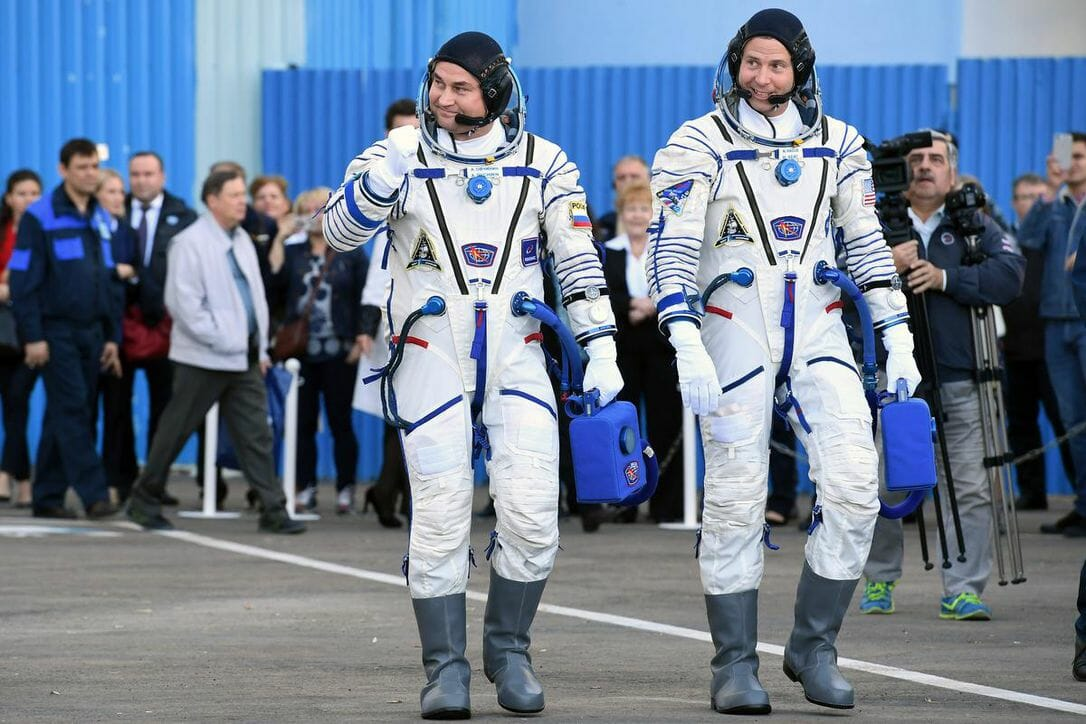 el cosmonauta ruso Alexey Ovchinin